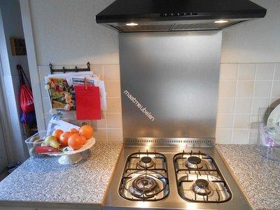 Rvs achterwand keuken op maat referenties op huis ontwerp